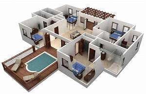 awesome free 4 bedroom house plans and designs new home With new home bedroom designs 2