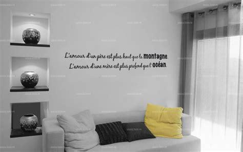 citation chambre stickers citation amour des parents