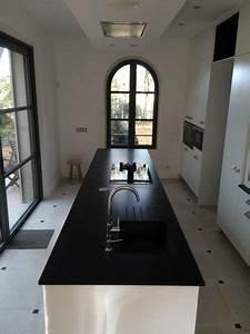 poser un plan de travail de cuisine maison design With pose d un plan de travail cuisine