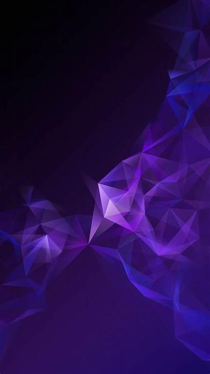 Galaxy Samsung Wallpapers Purple Abstract S9 Tuba