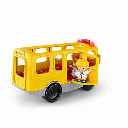 Fisher Toys Bus Toddlers Sit Toy Mattel