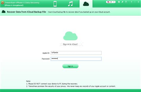 tenorshare iphone data recovery review tenorshare iphone 6 data recovery
