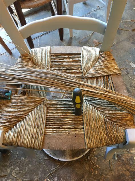 rempaillage d une chaise rempaillage chaise paillage chaise nimes gard