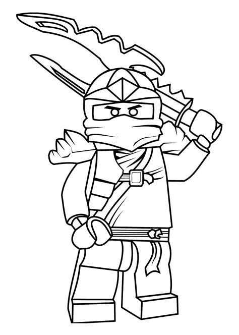 Ninjago Coloring Pages For Kids Printable Free Coloring
