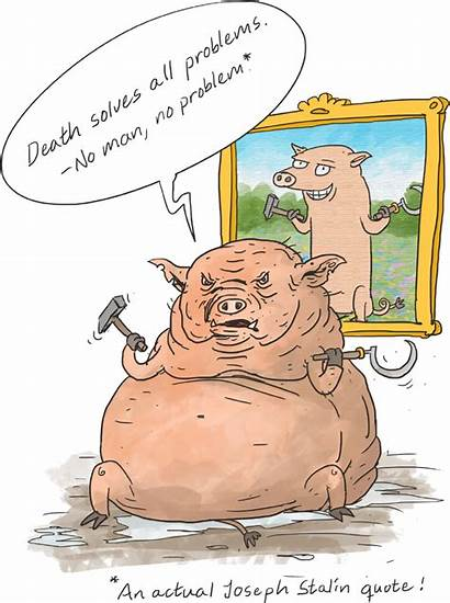 Napoleon Farm Animal Pig Animals Character Humans