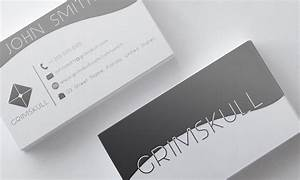 Black and white business card template by nik1010 on for Black and white business card template