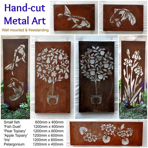australian metal artwork garden metal wall