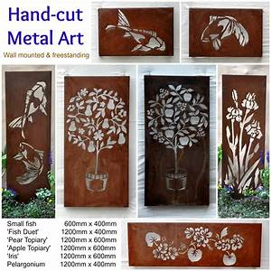Australian metal artwork, Garden Art, metal wall art