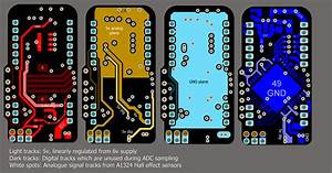 Adc - Mixed Signal Pcb Layout For Psoc