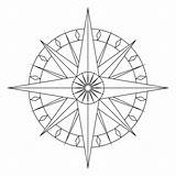 Compass Rose Blank Drawing Coloring Google Pages Line Clipart Porch Template Draw Drawings Patterns Ceiling Sketch Downstairs Library sketch template