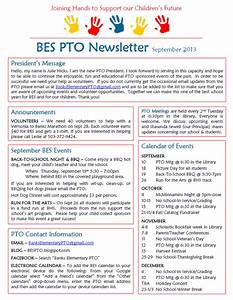 Pto newsletter templates free best free home design for Pto newsletter templates free