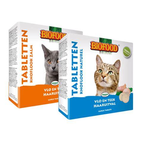 biofood knoblauchtabletten katze kitten