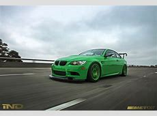 IND's Signal Green BMW E92 M3 Tells a Story autoevolution