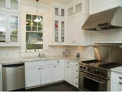 Delectable White Kitchen Cabinets Slate Floor Gallery Cabinets And The Huge Stove Are Great Too I Think The Floor Is Slate