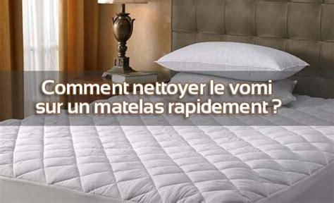 Nettoyer Vomi Matelas by Comment Nettoyer Le Vomi Sur Un Matelas Rapidement