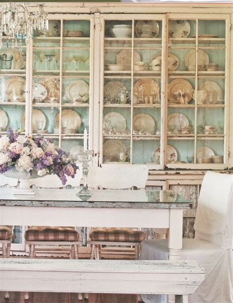 shabby chic dining room hutch 39 beautiful shabby chic dining room design ideas digsdigs