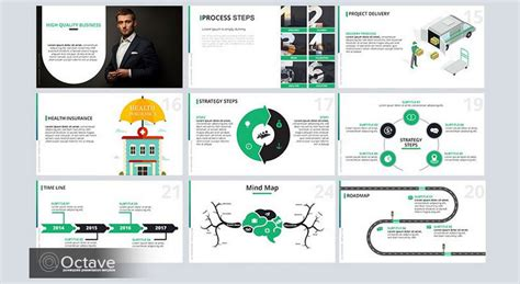 35 Best Free Powerpoint Templates For Professional 35 Free Infographic Powerpoint Templates To Power Your
