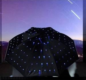 Regenschirm Mit Licht : led sternen himmel regenschirm ~ Kayakingforconservation.com Haus und Dekorationen