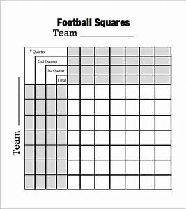 foot ball square template 7 free pdf doc download With free football square template