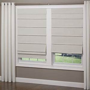 elegant home fashions tan room darkening cordless fabric With cordless roman shades for windows