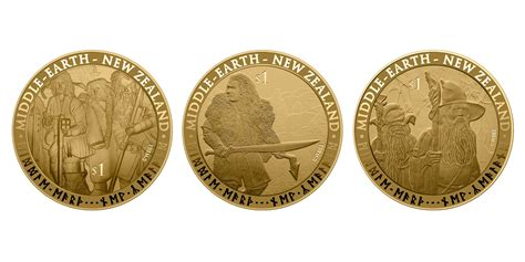 "New Zealand Post Releases ""hobbit"" Stamps And Coins… Ian"