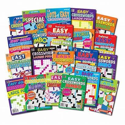 Easy Crossword Magazines Bargain Packs Kappa Puzzles