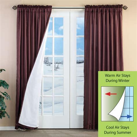 cypress 3 layer energy saving curtains set of 2 energy