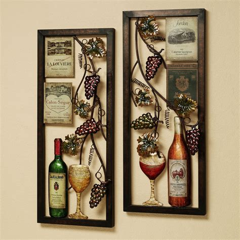 parisian wine kitchen décor with nice lighting and writing painting mykitcheninterior