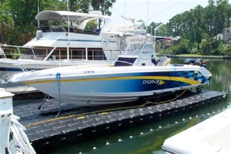 Drive On Floating Boat Lift by Floating Boat Lifts Get A Floating Boat Lift Or Boat