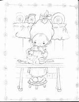 Coloring Betsy Clark Hallmark Cash Register sketch template