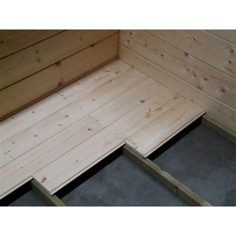 plancher s852 pour abri de jardin solid