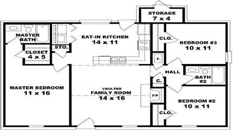 3 bed 2 bath floor plans house floor plans 3 bedroom 2 bath floor plans for 3