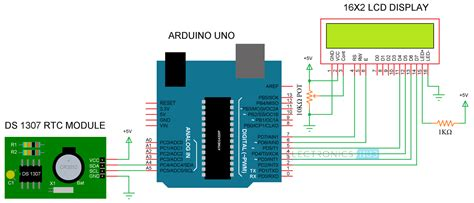 Arduino Real Time Clock Rtc Tutorial Using