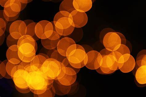 lights orange free stock photo blurred orange lights