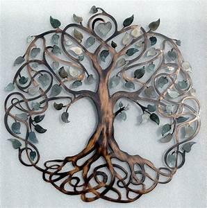 Gorgeous Design Ideas Tree Of Life Metal Wall Art Amazon ...