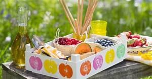 Recyclage Petite Cagette : recyclage customiser des cagettes en bois marie claire ~ Nature-et-papiers.com Idées de Décoration