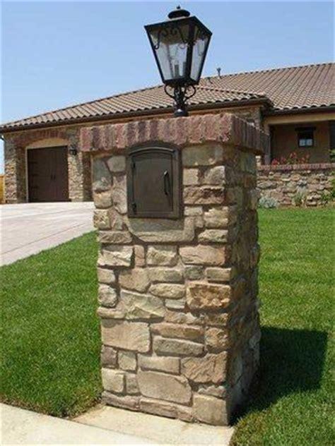brick l post designs brick mailbox mailbox post and light fixtures on pinterest