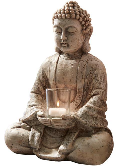 theelichthouder boeddha grijs wonen bonprixnl