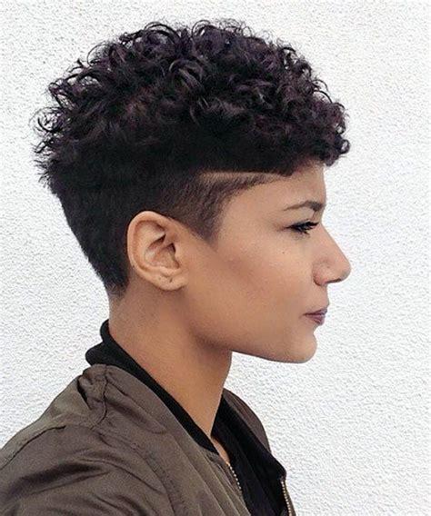 sassy  sexy black pixie cuts short hair styles