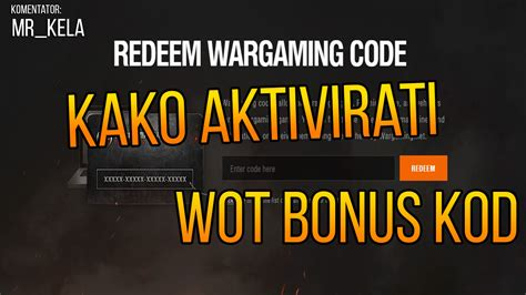 WoT Bonus Codes in August 2020 Wargaming