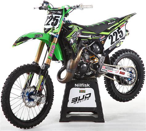 moto shop racing kit d 233 co complet bud racing team replica 15 kx 85 14 18