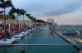 Singapore Hotel With Infinity Pool On Rooftop Image Marina Bay Sands Hotels Singapore Swimming Pool On The Roof Hotel