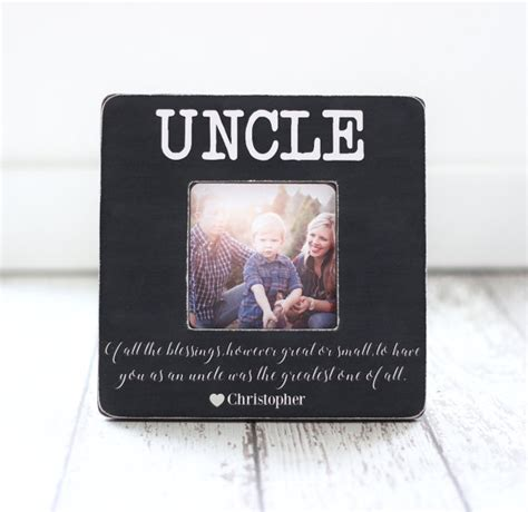 christmas gift for uncle from nephew niece quote personalized