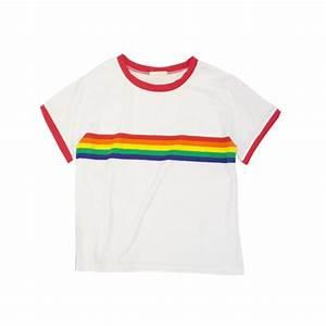 Rainbow top on Storenvy