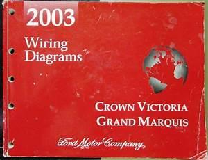 2003 Ford Mercury Electrical Wiring Diagram Manual Crown