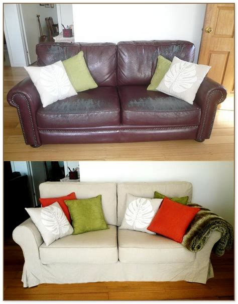 slipcover for leather sofa slipcovers for leather sofas