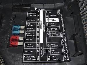 91 92 93 94 Nissan 240sx Oem Interior Fuse Box Cover