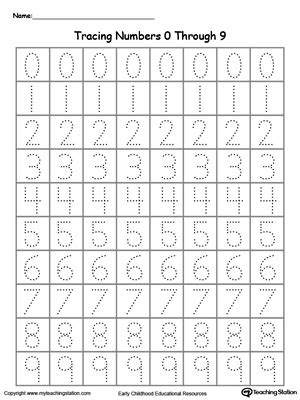 All Worksheets » Number Tracing Worksheets 1 20  Printable Worksheets Guide For Children And