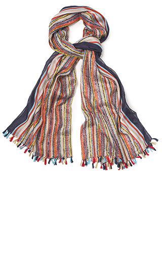 stripe cotton scarf sale scarves sale accessories