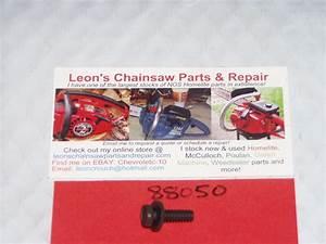 Nos Homelite 330 Chainsaw Engine Shroud Mounting Screw 88050